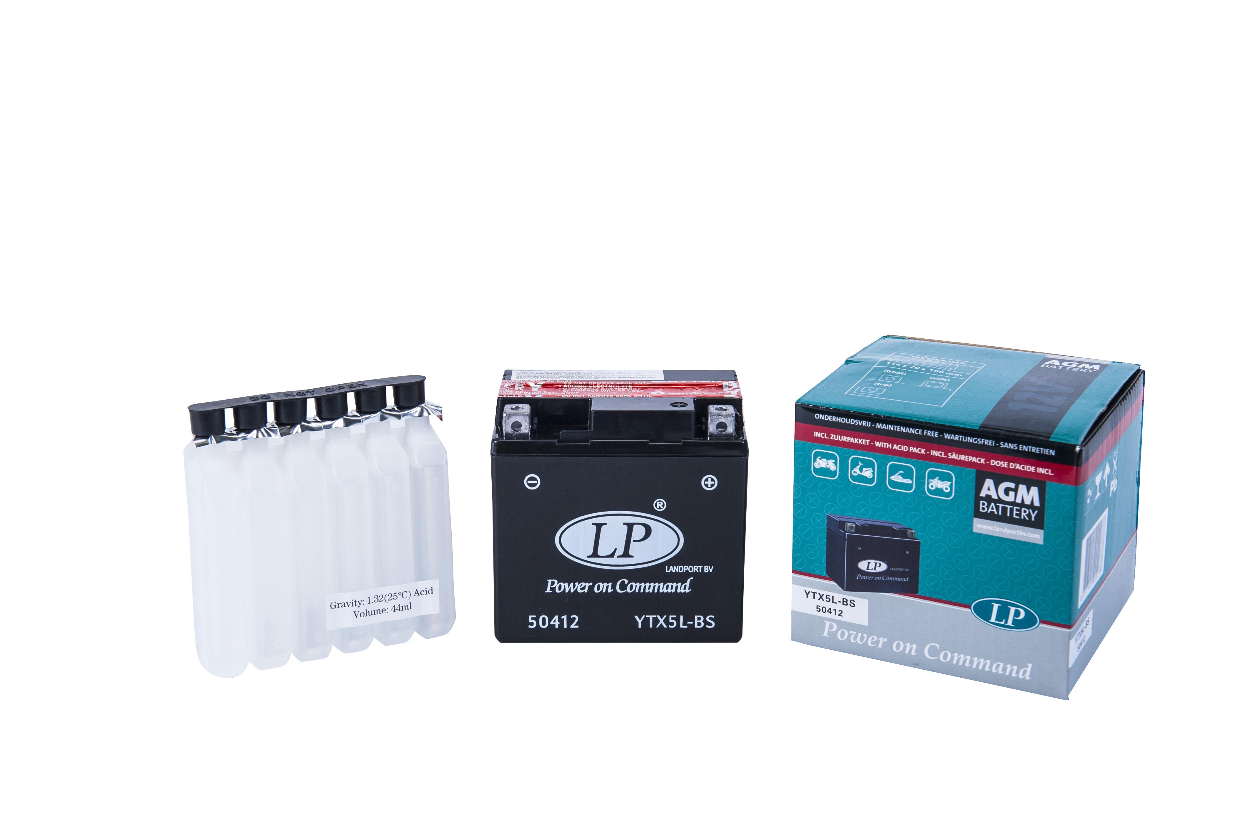 Baterie Moto fara intretinere 12V 5Ah L 114 l 71 H 106 0