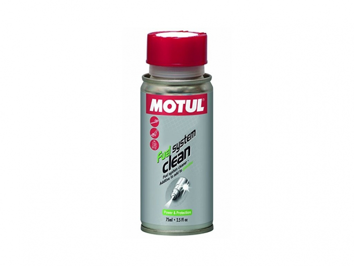 Aditiv intretinere sistem combustibil moto, Motul Fuel System Clean Scooter , 75ml 0