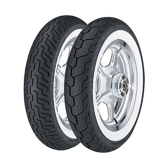Anvelopa asfaltDUNLOP 150/80-16 D404 71HTT WW laterale albe 0