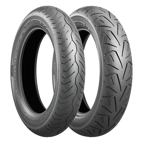 Anvelopa chopper/cruiser BRIDGESTONE 130/90B16 73H TL Battlecruise H50 Fata Diagonal 0