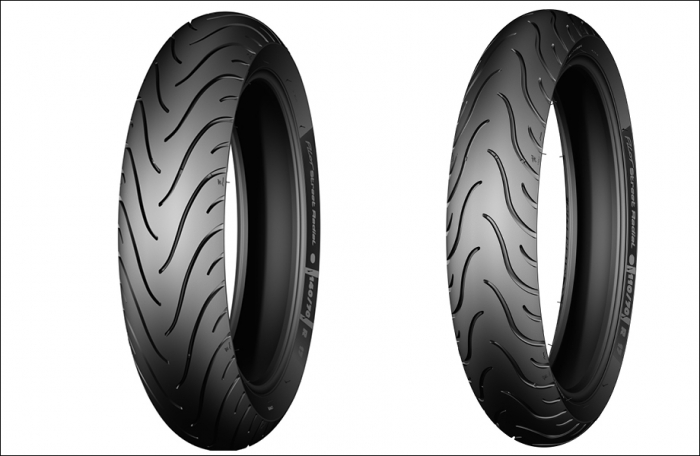 Anvelopa city/classic MICHELIN 80/90-17 (50S) TL/TT PILOT STREET, Diagonal 0