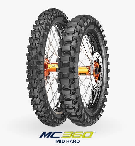 Anvelopa cross/enduro METZELER 80/100-21 TT 51M MC360 MID HARD 0
