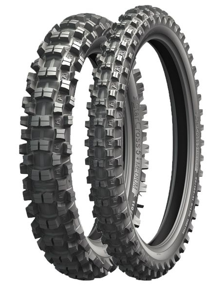 Anvelopa cross/enduro MICHELIN 110/100-18 TT 64M STARCROSS 5 MEDIUM Spate 0