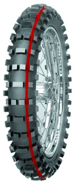 Anvelopa cross/enduro MITAS 100/90-19 (57M) TT C12 SOFT TERRAIN RED NHS, Diagonal 0