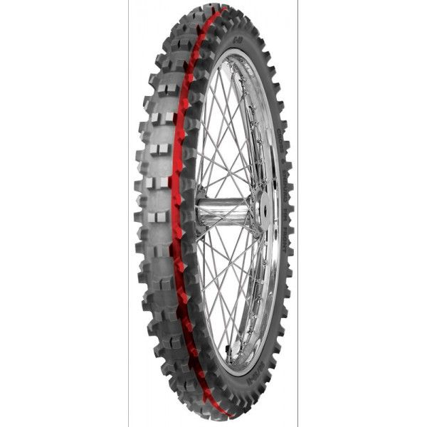 Anvelopa cross/enduro MITAS 60/100-14 TT 30M C19 INTERMEDIATE TERRAIN RED Fata 0