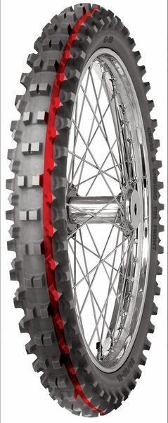 Anvelopa cross/enduro MITAS 90/90-21 (54R) TT C19 SUPER LIGHT GREEN NHS, Diagonal 0