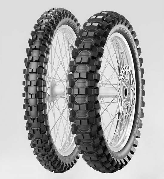 Anvelopa cross/enduro PIRELLI 100/100-18 TT 59M SCORPION MX EXTRA X Spate 0