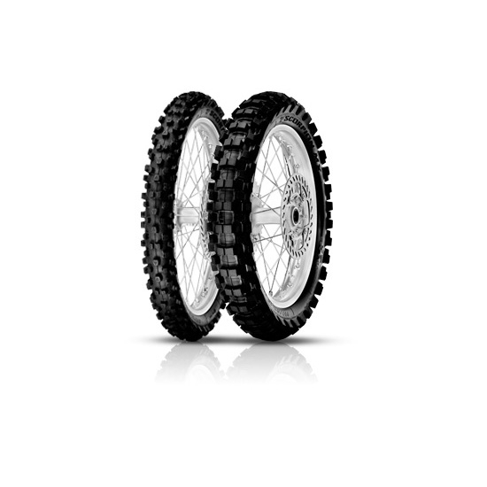Anvelopa cross/enduro PIRELLI 110/90-17 TT 60M SCORPION MX EXTRA J Spate 0