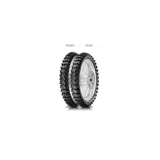 Anvelopa cross/enduro PIRELLI 60/100-12 TT 36M SCORPION MX MID SOFT 32 MINI Fata 0