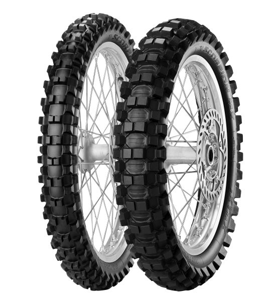 Anvelopa cross/enduro PIRELLI 80/100-21 TT 51M SCORPION MX EXTRA X Fata 0