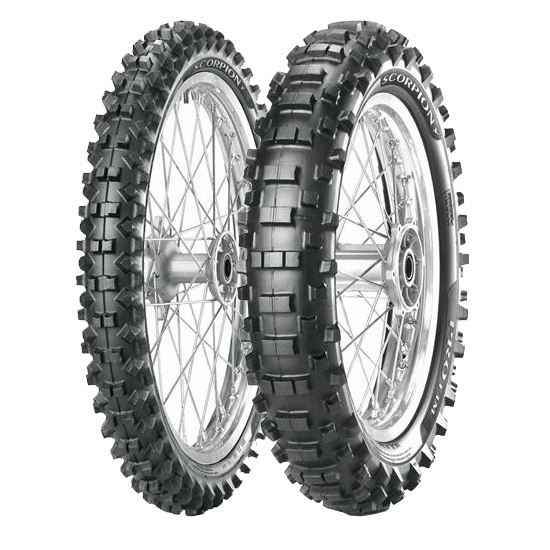 Anvelopa cross/enduro PIRELLI 90/90-21 TT 54M SCORPION PRO Fata 0