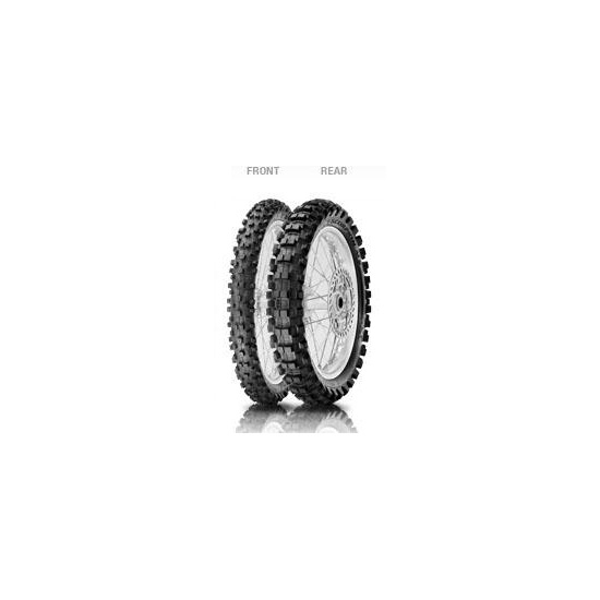 Anvelopa cross/enduro Pirelli'? PIR1663400 110/100 - 18 64M NHS Scorpion MX eXtra-spate 0
