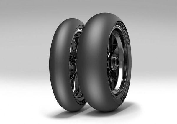 Anvelopa curse tip slick METZELER 200/60R17 TL RACETEC RR SLICK K1 Spate 0