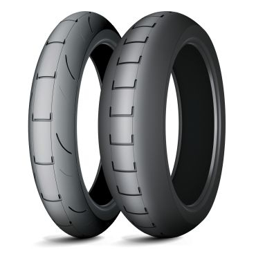 Anvelopa curse tip slick MICHELIN 160/60R17 TL POWER SUPERMOTO C Spate 0