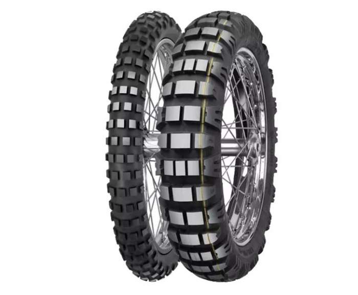 Anvelopa enduro MITAS 100/90-19 TL 57 E-09 DAKAR yellow 0