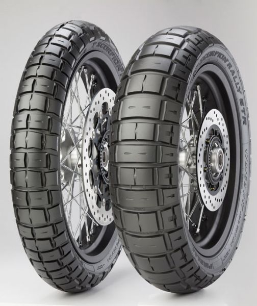 Anvelopa enduro PIRELLI 150/70R17 TL 69V M+S SCORPION RALLY STR Spate 0