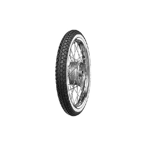 Anvelopa moto asfalt Continental 2 3/4-17 M / C 47J TT KKS 10 RF White s side WW 0