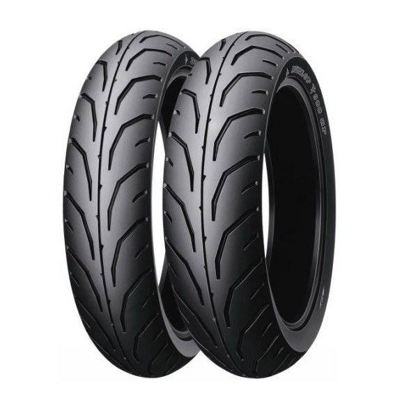 Anvelopa moto asfalt DUNLOP 110/70-17 TL 54H TT900 GP J Fata 0