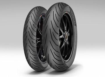 Anvelopa moto asfalt PIRELLI 150/60ZR17 TL 66S ANGEL CITY Spate 0