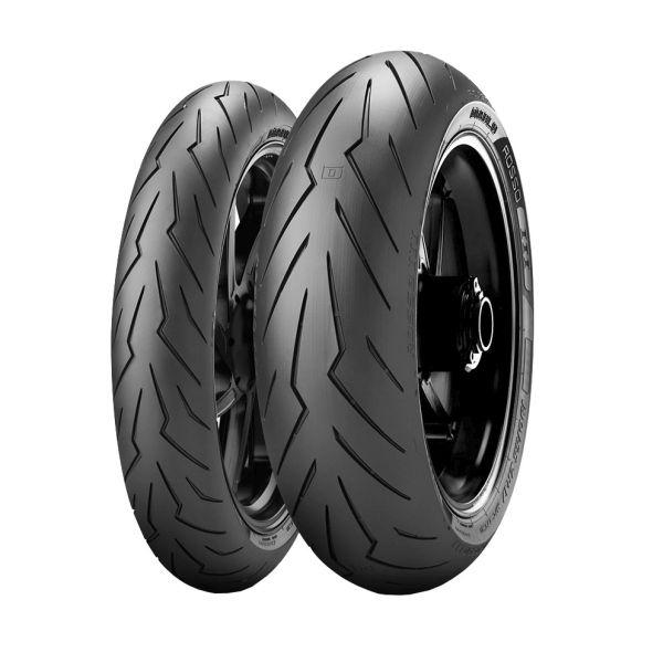 Anvelopa moto asfalt PIRELLI 240/45ZR17 82W DIABLO ROSSO III Spate [0]