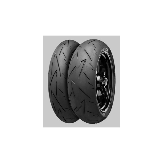 Anvelopa moto asfalt Sports tyre CONTINENTAL 160/60ZR17 TL 69W ContiSportAttack 2 Spate 0