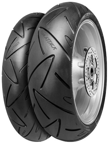 Anvelopa moto asfalt Sports tyre CONTINENTAL 190/50ZR17 TL 73W ContiSportAttack Spate 0