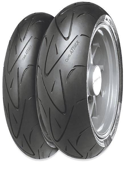 Anvelopa moto asfalt Sports tyre CONTINENTAL 190/55ZR17 TL 75W ContiSportAttack Spate 0