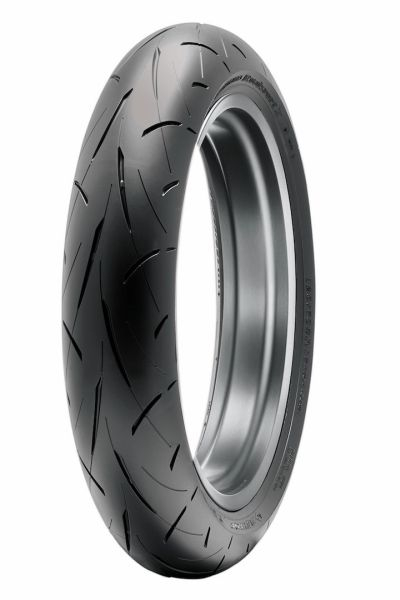 Anvelopa moto asfalt Sports tyre DUNLOP 120/70ZR17 TL 58W ROADSPORT 2 Fata 0