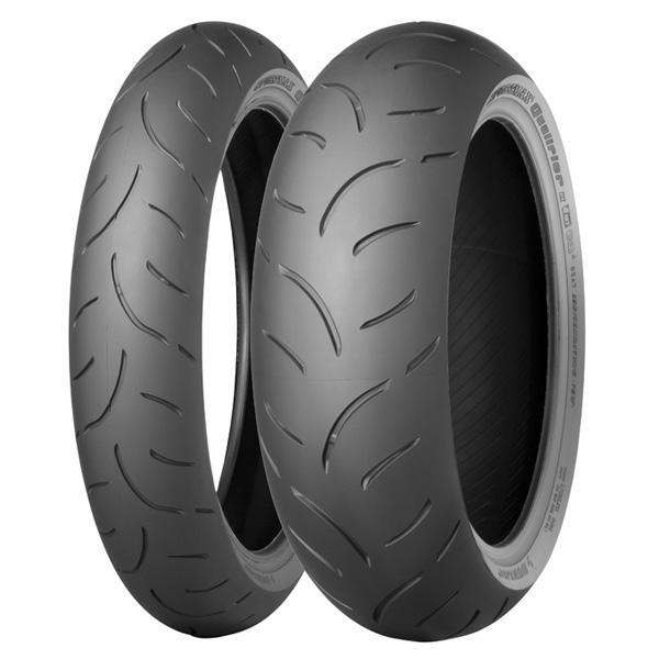 Anvelopa moto asfalt Sports tyre DUNLOP 120/70ZR17 TL 58W Sportmax QUALIFIER II K Fata 0