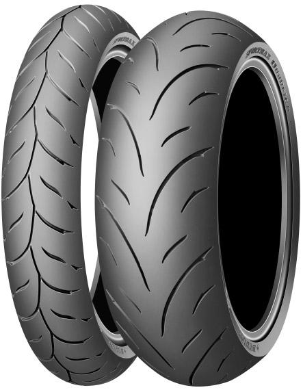 Anvelopa moto asfalt Sports tyre DUNLOP 180/55ZR17 TL 73W Sportmax QUALIFIER Spate 0