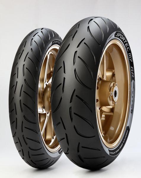 Anvelopa moto asfalt Sports tyre METZELER 200/55ZR17 TL 78W SPORTEC M7 RR Spate 0