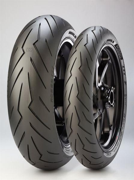 Anvelopa moto asfalt Sports tyre PIRELLI 120/60ZR17 TL 55W DIABLO ROSSO III Fata 0