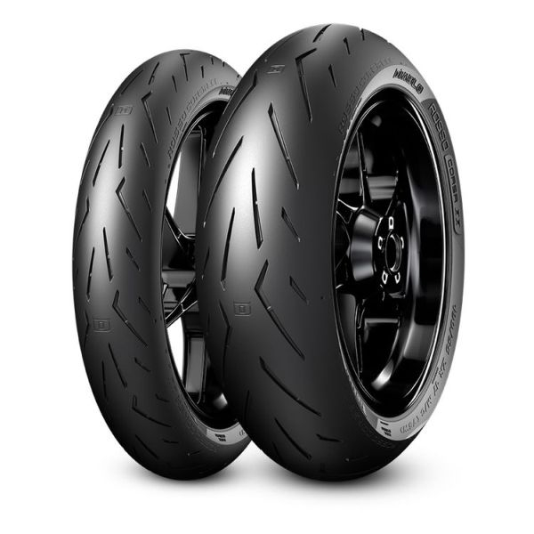 Anvelopa moto asfalt Sports tyre PIRELLI 190/50ZR17 TL 73W DIABLO ROSSO CORSA II Spate 0