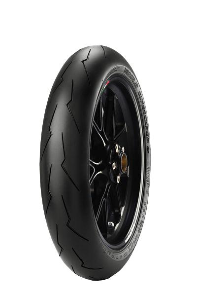 Anvelopa moto asfalt Sports tyre PIRELLI 120/70ZR17 TL 58W DIABLO SUPERCORSA V2 SP Fata 0