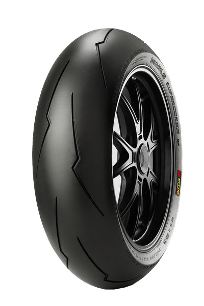 Anvelopa moto asfalt Sports tyre PIRELLI 190/50ZR17 TL 73W DIABLO SUPERCORSA V2 SP Spate 0