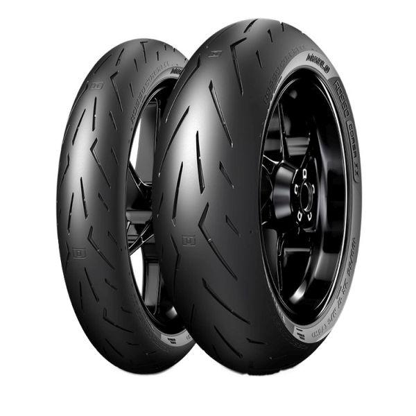 Anvelopa moto asfalt Sports tyre PIRELLI 200/60ZR17 80W DIABLO ROSSO CORSA II Spate 0