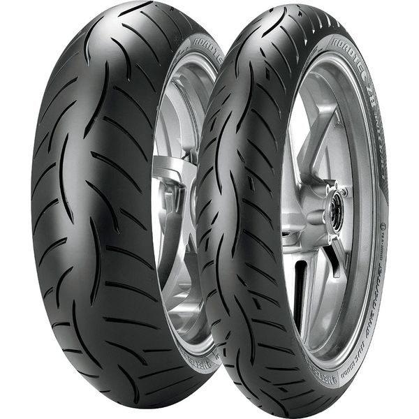 Anvelopa moto METZELER 110/80ZR18 TL 58W ROADTEC Z8 INTERACT M Fata 0