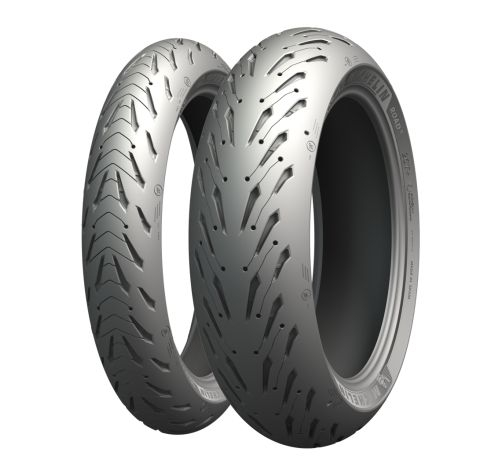 Anvelopa moto MICHELIN 110/80R19 TL 59V ROAD 5 Trail Fata 0