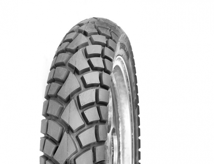 Anvelopa on/off enduro DELI TIRE 120/80-17 TL 61R STREET ENDURO SB-117 Spate 0