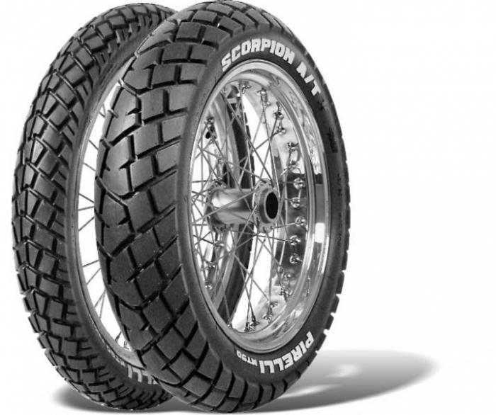 Anvelopa Pirelli 140/80 - 18 M / C - '70 Scorpion MT 90 A / T spate 0