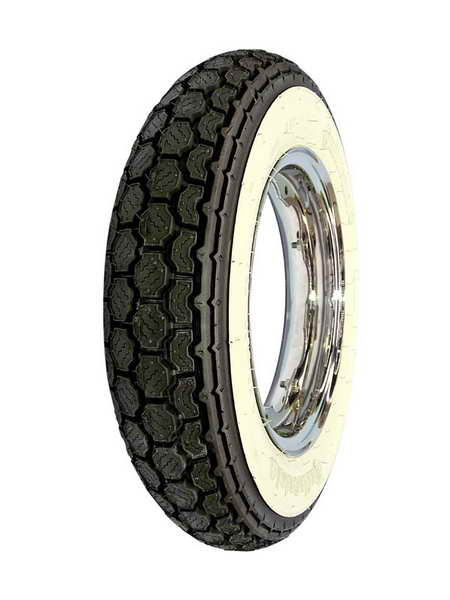 Anvelopa scuter Continental Tire 3.00 - 10 M / C 50J TT K62 WW White s side 0