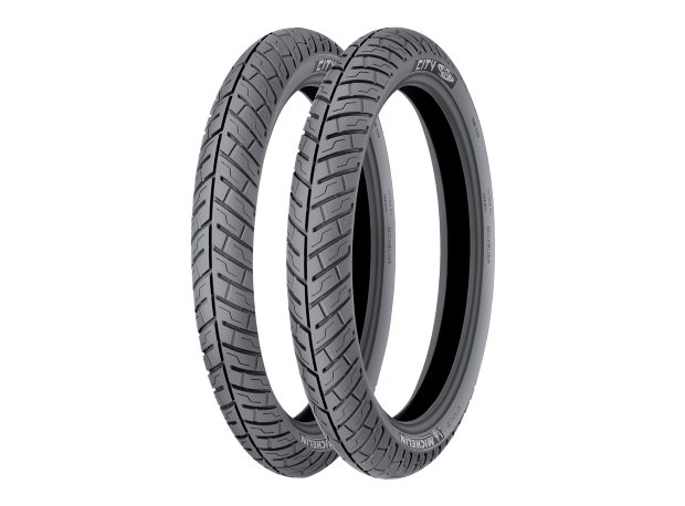 Anvelopa scuter MICHELIN 110/80-14 TT 59S CITY PRO (ranforsata) Spate 0