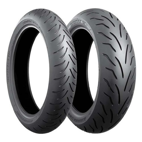 Anvelopa scuter/moped BRIDGESTONE 100/90-14 (57P) TL SC1 (Ranforsat), Diagonal 0