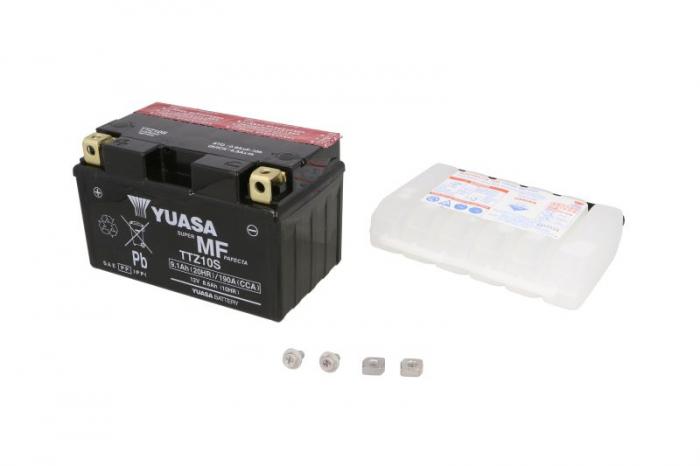 Baterie moto AGM/fara intretinere 12V 8,6Ah 190A L+ 150x87x93 Incarcare uscata cu acid  0