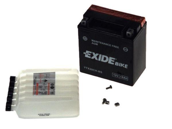 Baterie moto AGM/fara intretinere EXIDE 12V 18Ah 230A L+ 150x87x161 Incarcare uscata cu acid  0