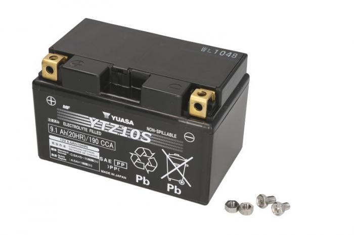 Baterie moto AGM/fara intretinere YUASA 12V 8,6Ah 190A L+ 150x87x93   0