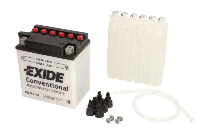 Baterie moto EXIDE 11Ah YB10L-A2 [0]