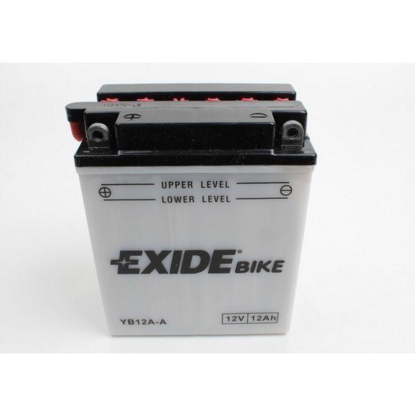 Baterie moto EXIDE 12Ah YB12A-A 0