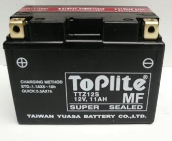 Baterie Moto fara intretinere 12 V 11Ah 210A 0