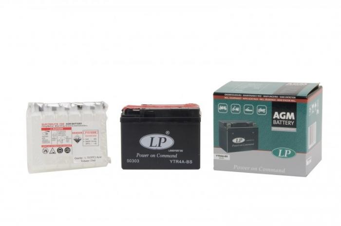 Baterie Moto fara intretinere 12V 2,3Ah L 113 l 48 H 86 0